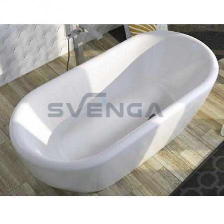 RIHO Dua akrilinė laisvai pastatoma vonia 180x86 cm