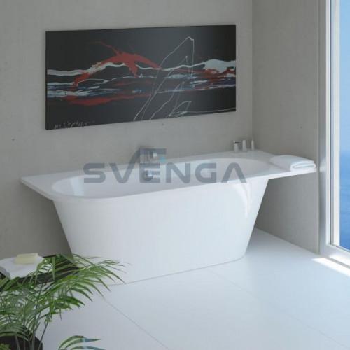 Vispool Evento 3 1750x750mm lieto akmens vonia