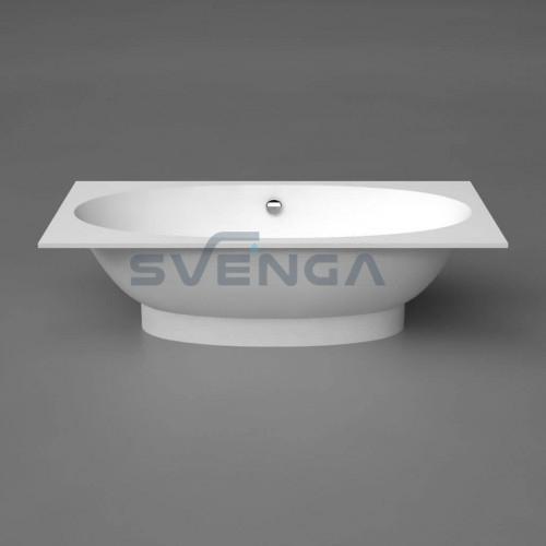 Vispool Gemma 1 1950x1010mm lieto akmens vonia