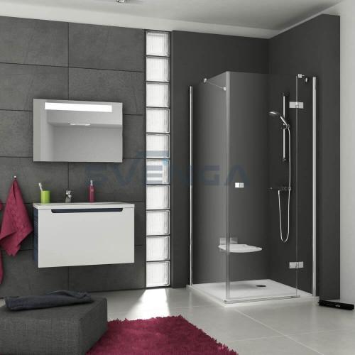 Ravak SmartLine SMSD2 + SMPS kvadratinė dušo kabina.