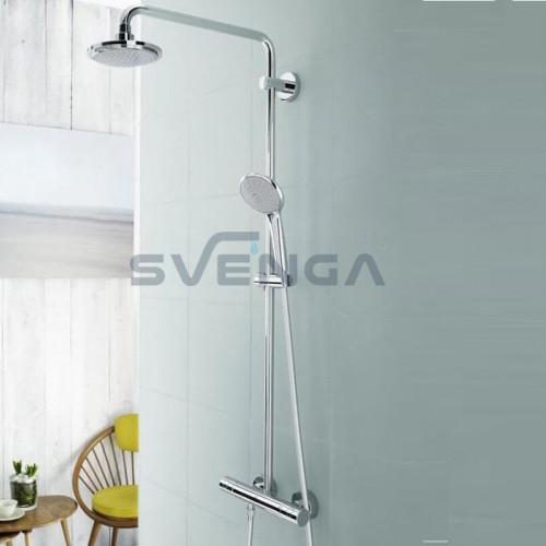Grohe Euphoria dušo sistema su termostatiniu maišytuvu