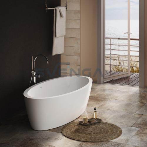PAA Arietta laisvai pastatoma akrilinė vonia 1600x760