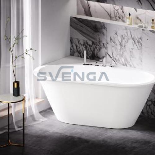 PAA Deco Shape balta matinė laisvai pastatoma vonia nestandartinių matmenų