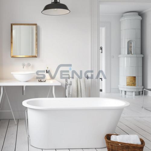 PAA Vario Round 1660x750mm lieto akmens vonia