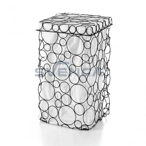Kvadratinė skalbinių dėžė