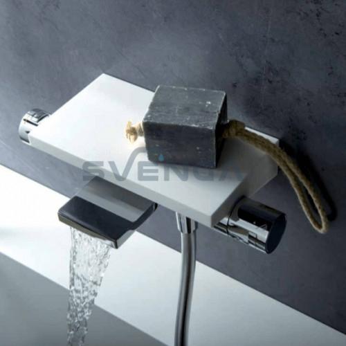 Alpi Seta SA73106 termostatinis vonios maišytuvas su kriokliuku