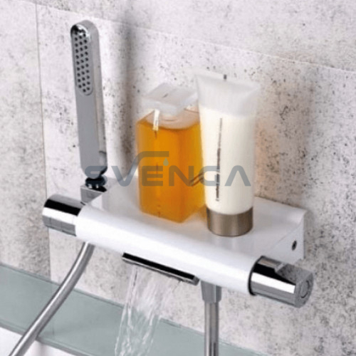 Alpi Zago ZA69100 termostatinis vonios maišytuvas su kriokliuku