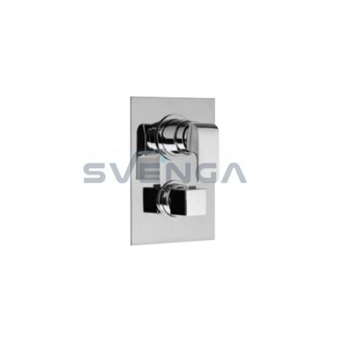 Alpi Infiniti IF44169 termostatinis potinkinis dušo maišytuvas 3 padėčių