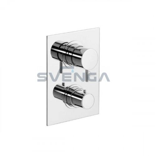 Alpi Solo NU55169 termostatinis potinkinis dušo maišytuvas 3 padėčių